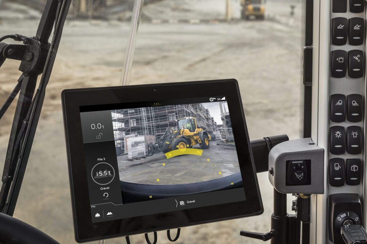 VolvoCE adds Five new apps to expand Load Assist on-board information system