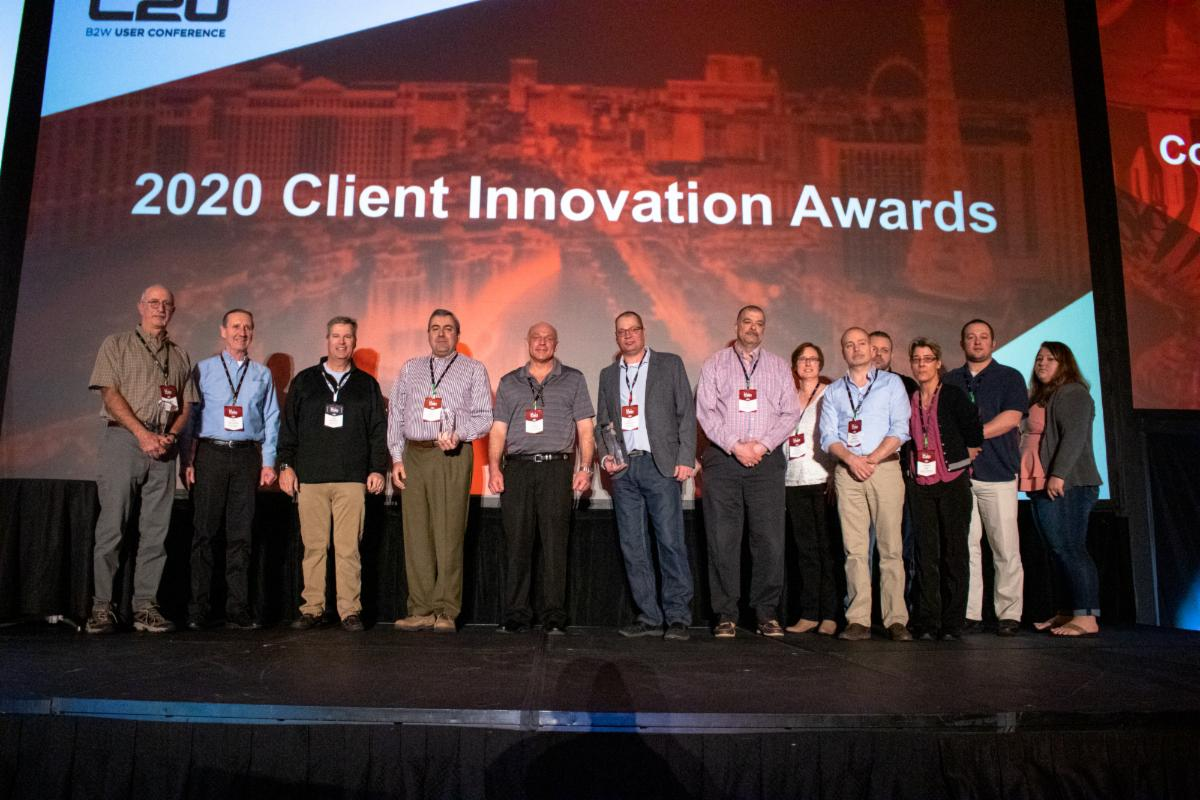 B2W Software presents 2020 Client Innovation Awards to four Construction Contractors