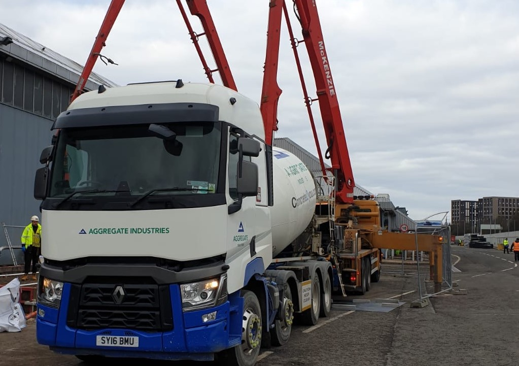 Aggregate Industries supports multiple NHS Projects