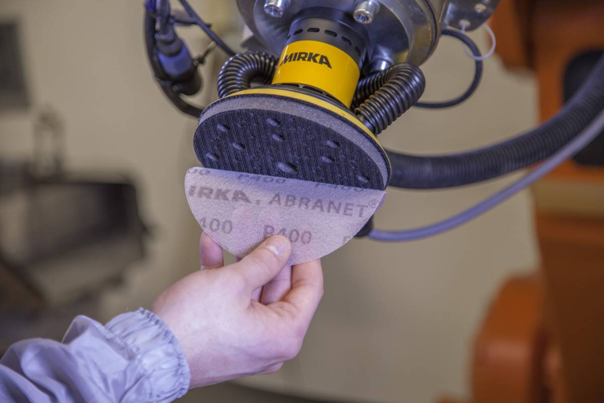Mirka launches automated programme for advanced robotic surface finishing