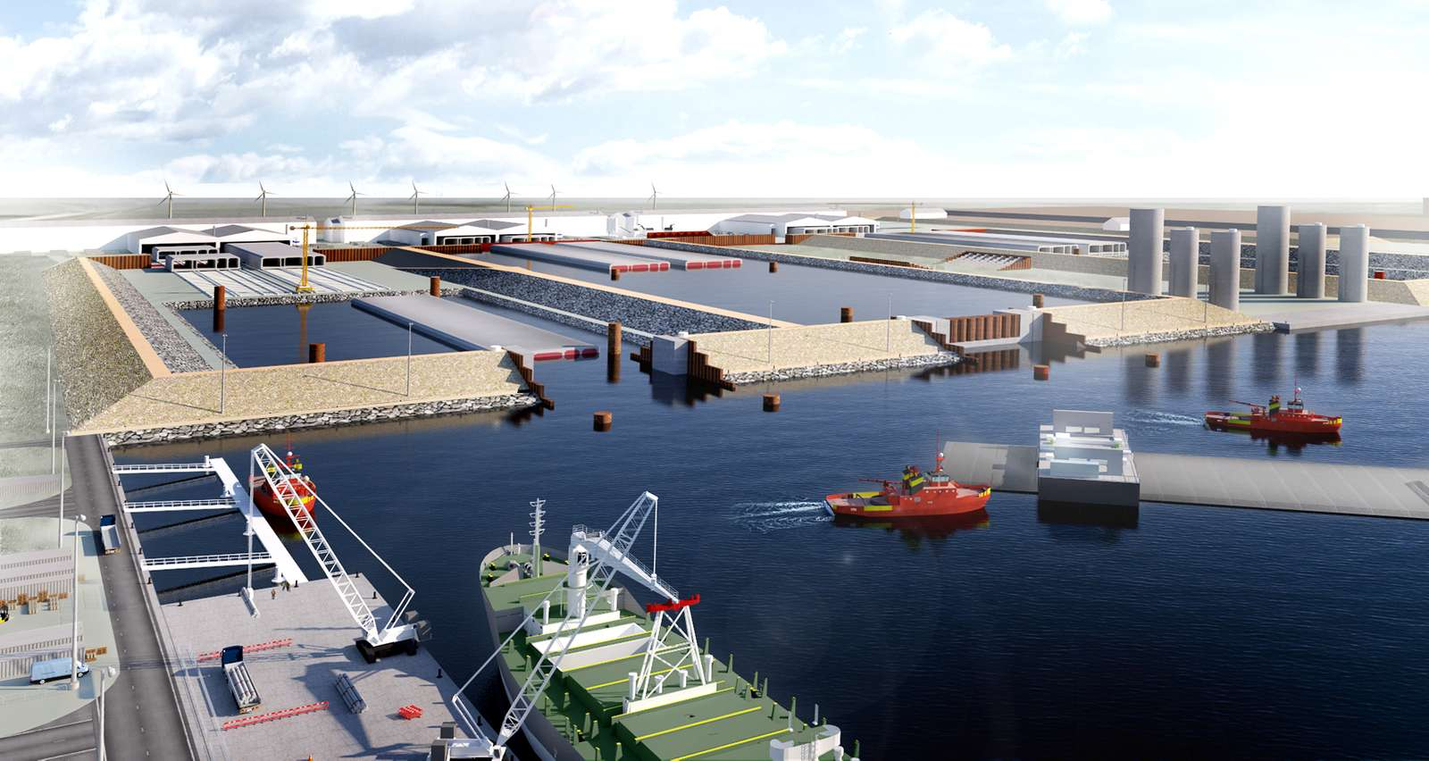 Femern Link contractors receive go ahead for world's longest immersed tunnel