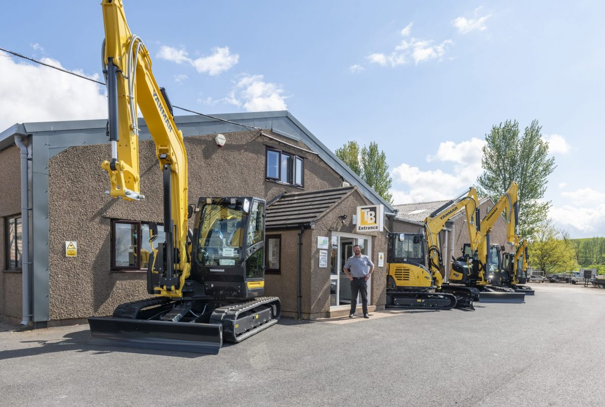 Yanmar expands in UK with new dealer Taylor and Braithwaite