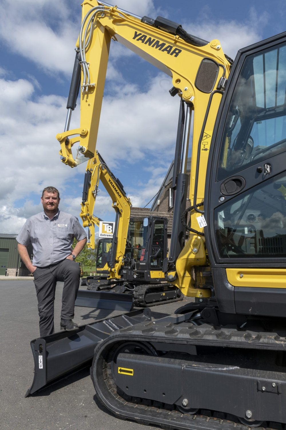 Yanmar expands in UK with new dealer Taylor and Braithwaite. Image by Jonathan Becker