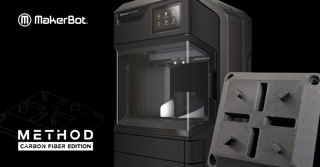 MakerBot launches METHOD Carbon Fibre 3D Printing