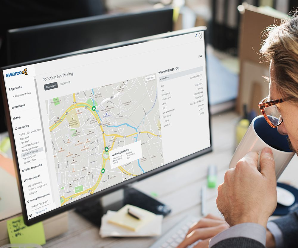 SWARCO launches MyCity Modular Traffic Management Platform