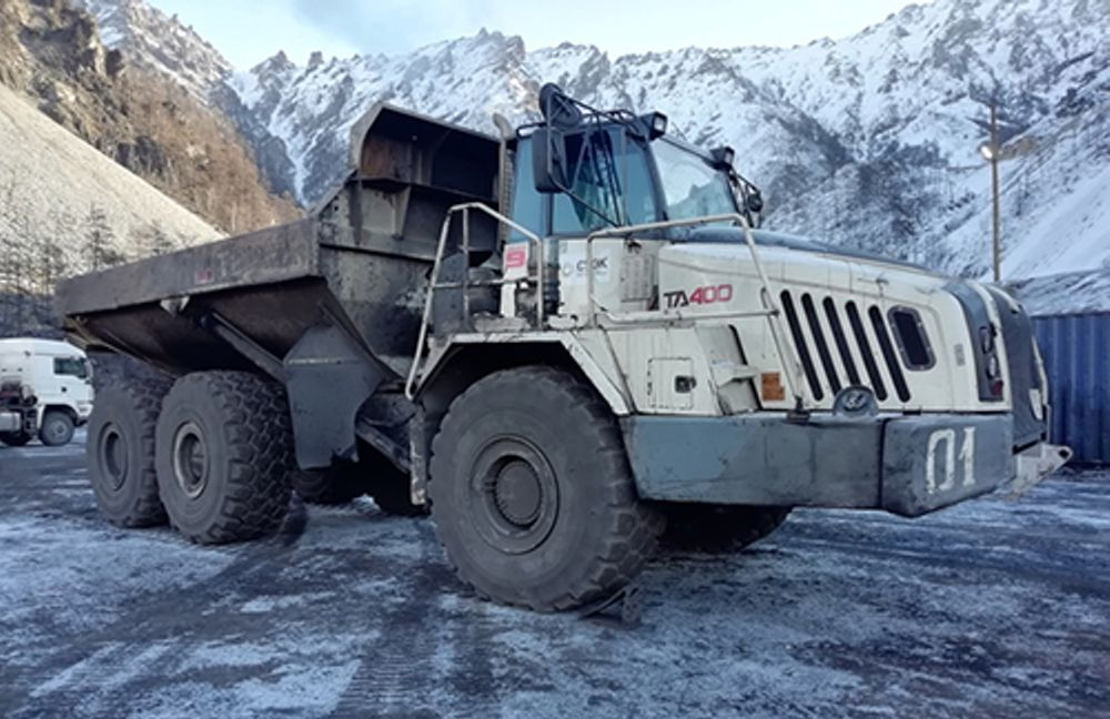 Terex TA400s Trucks brave -45 in Russian mine