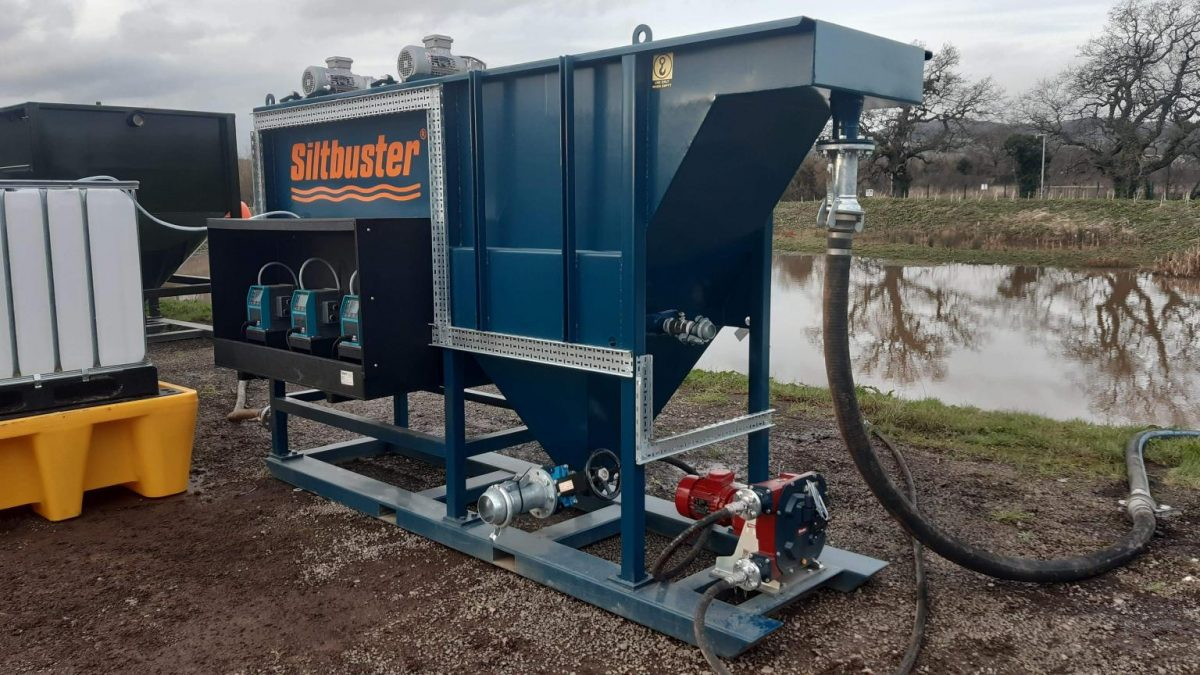 Glastonbury supplier Live Trakway calls on Siltbuster Process Solutions