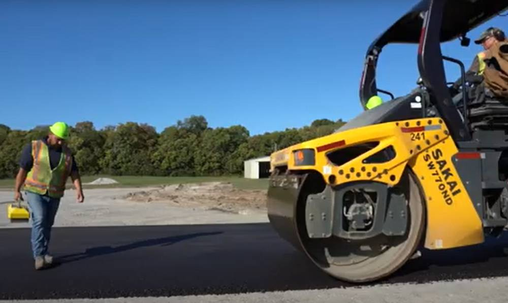 Ingevity Evotherm technology simplifies remote island paving in Ohio