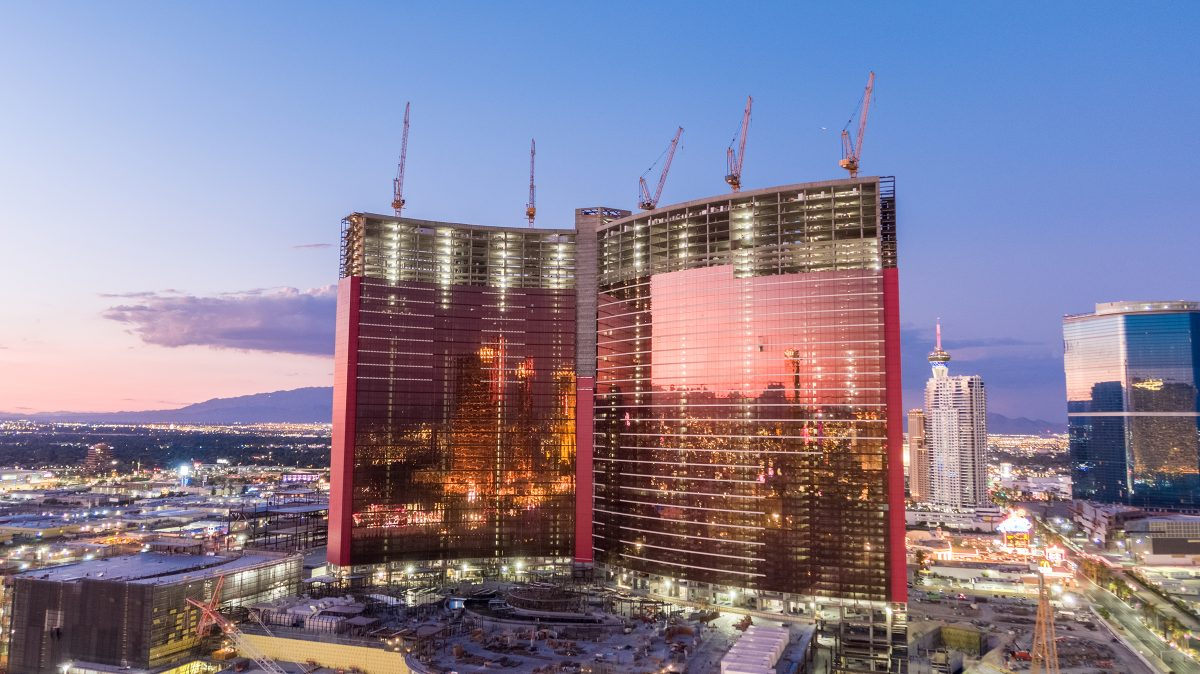 Five Liebherr 542 HC-L 18-36 tower cranes join the high rollers at Las Vegas project