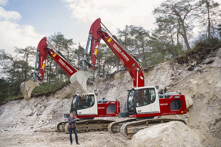 Prantl invests in new generation Liebherr excavators