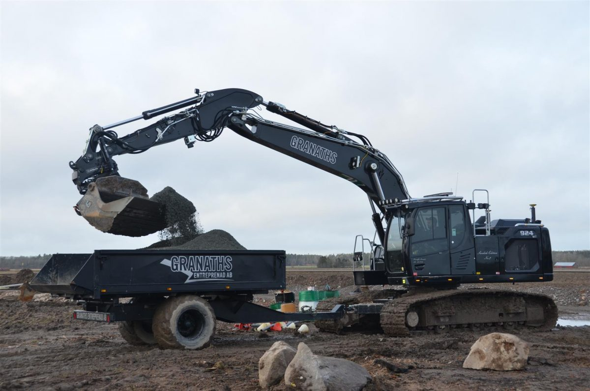 The Liebherr new generation of crawler excavators designed for the Swedish market