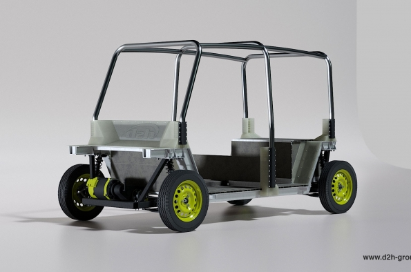 D2H working on electric Tuk-Tuk alternative