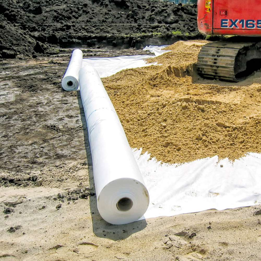 Sustainable nonwoven geosynthetics for the construction industry