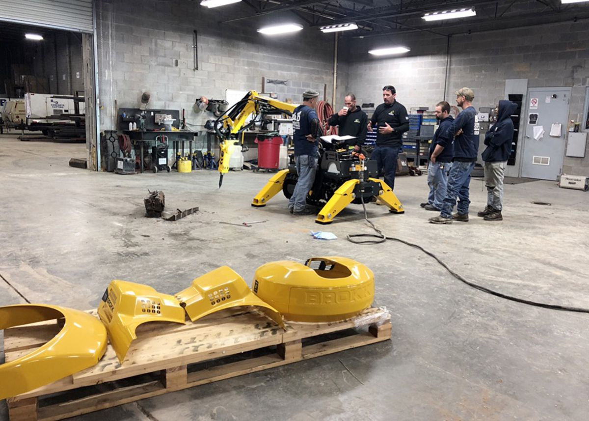 Brokk offers in-depth training program to maximize safety and productivity