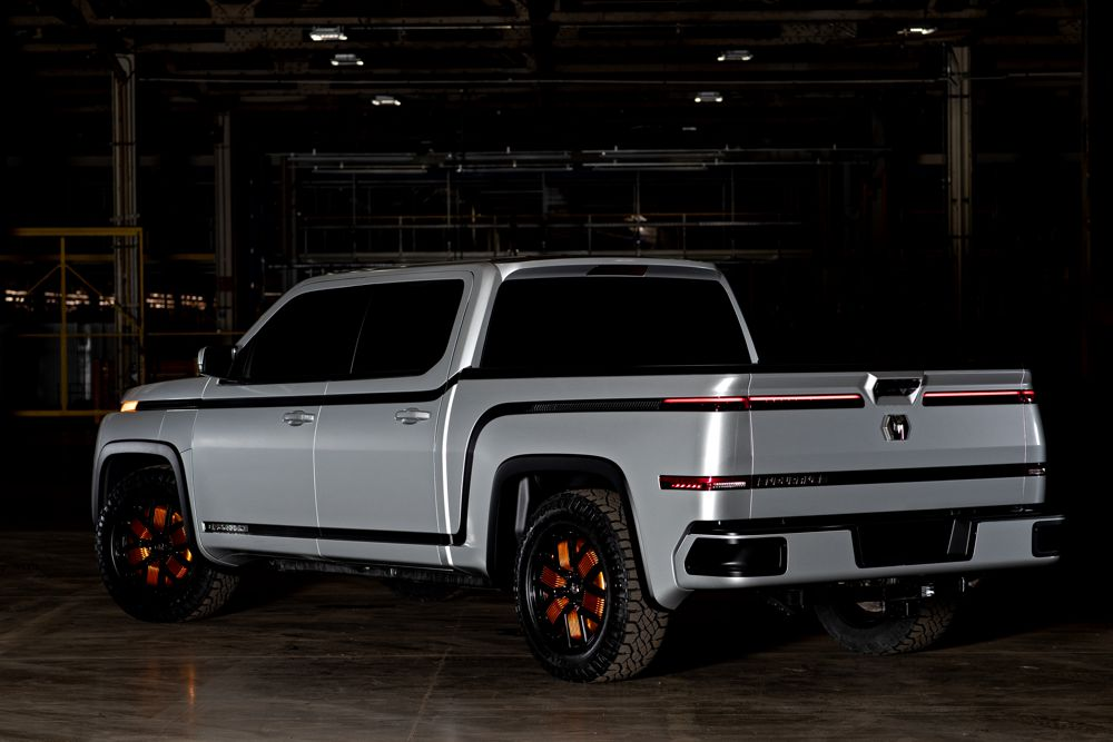 Lordstown Motors debuts all-electric Pickup Truck