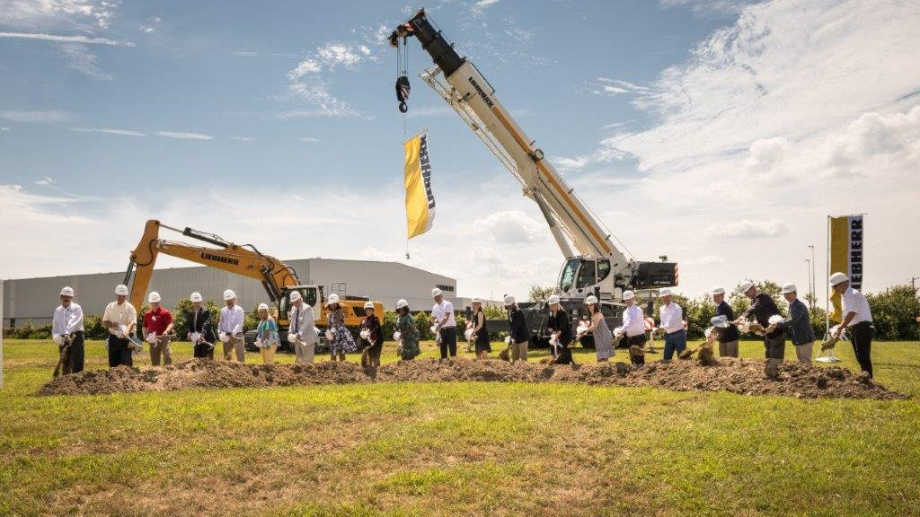 New Liebherr USA Newport News headquarters opens at expanded campus in Virginia