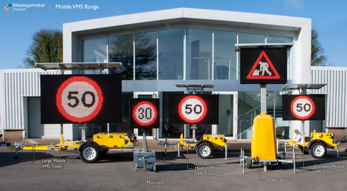 Messagemaker launches two new portable temporary Traffic Sign solutions