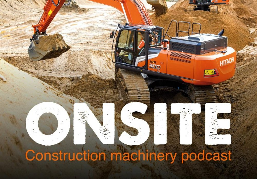 Hitachi Construction Machinery Europe launches Onsite podcast