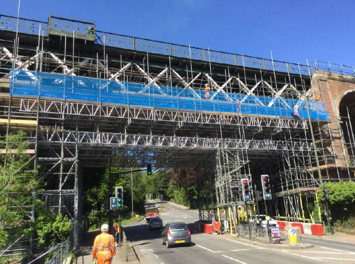 Network Rail launches major renewal of Oxted Viaduct and Eridge footbridge in Sussex
