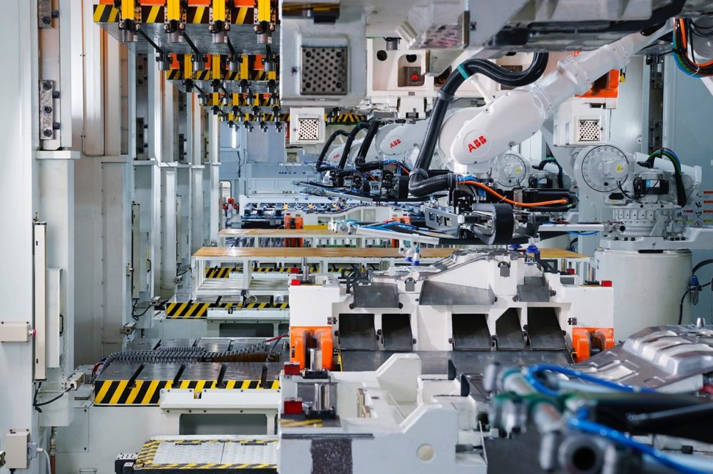 Xpeng opens new smart robot driven Electric Vehicle factory