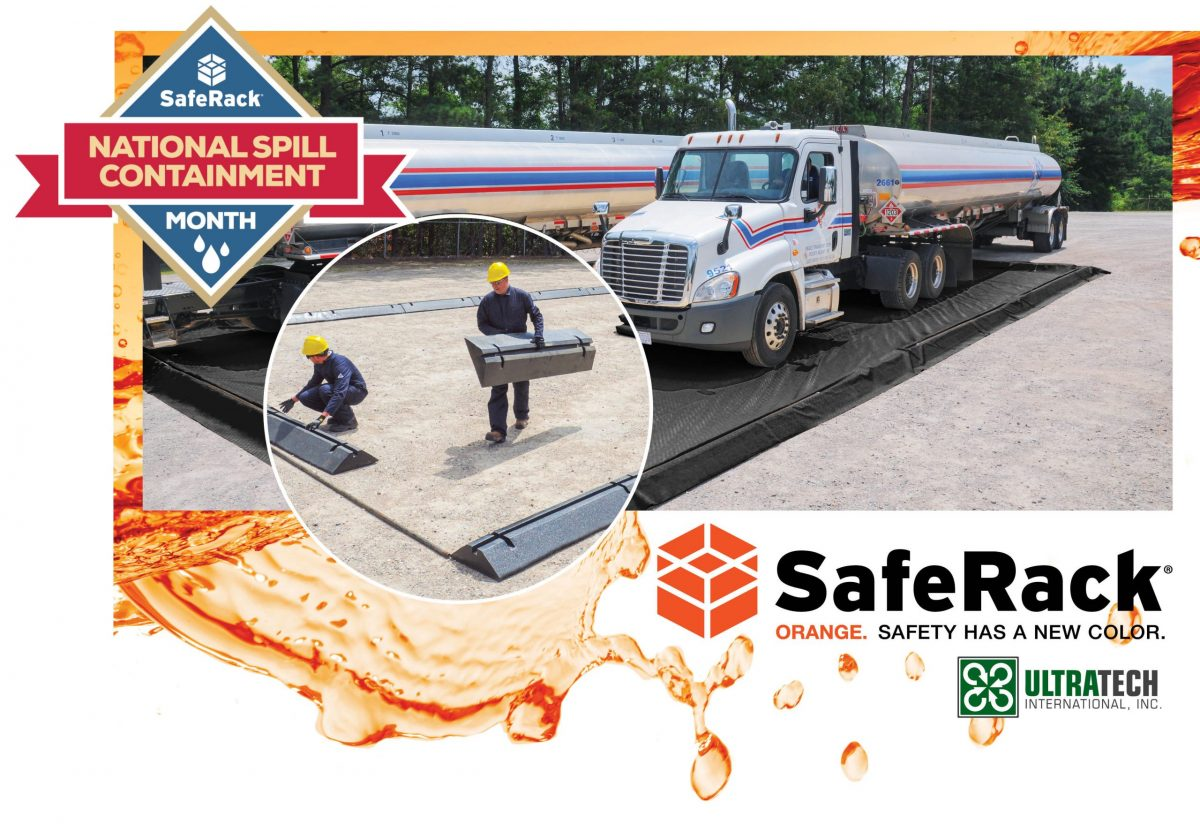 SafeRack and UltraTech host Spill Prevention Month