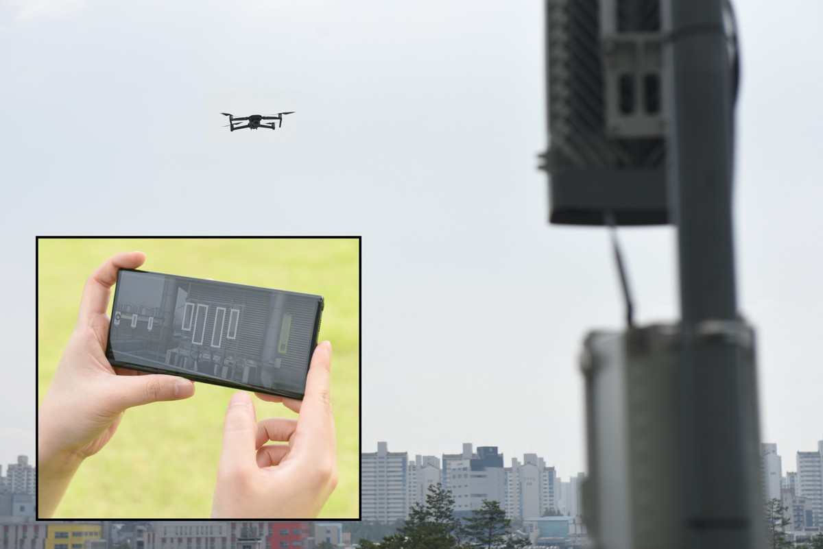 Samsung demonstrates drone-based AI to optimize 5G network performance