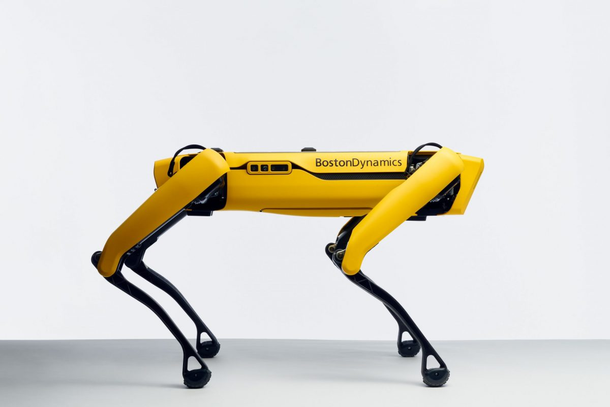 Boston Dynamics Spot robot dog now available in USA