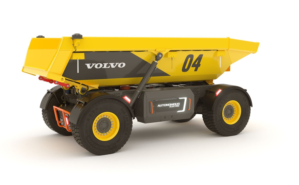 VolvoCE Autonomous Hauler wins Red Dot award
