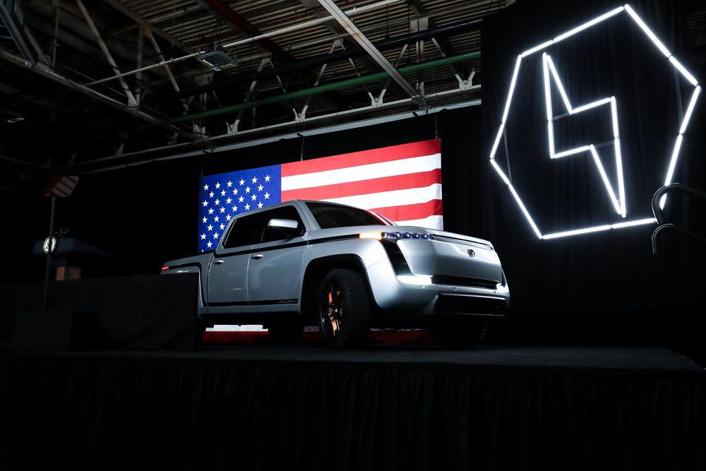 Lordstown Motors debuts all-electric Pickup Truck