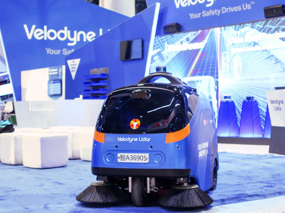 Velodyne Lidar and Idriverplus co-operate to promote Idriverplus Mobile Robotic Solutions