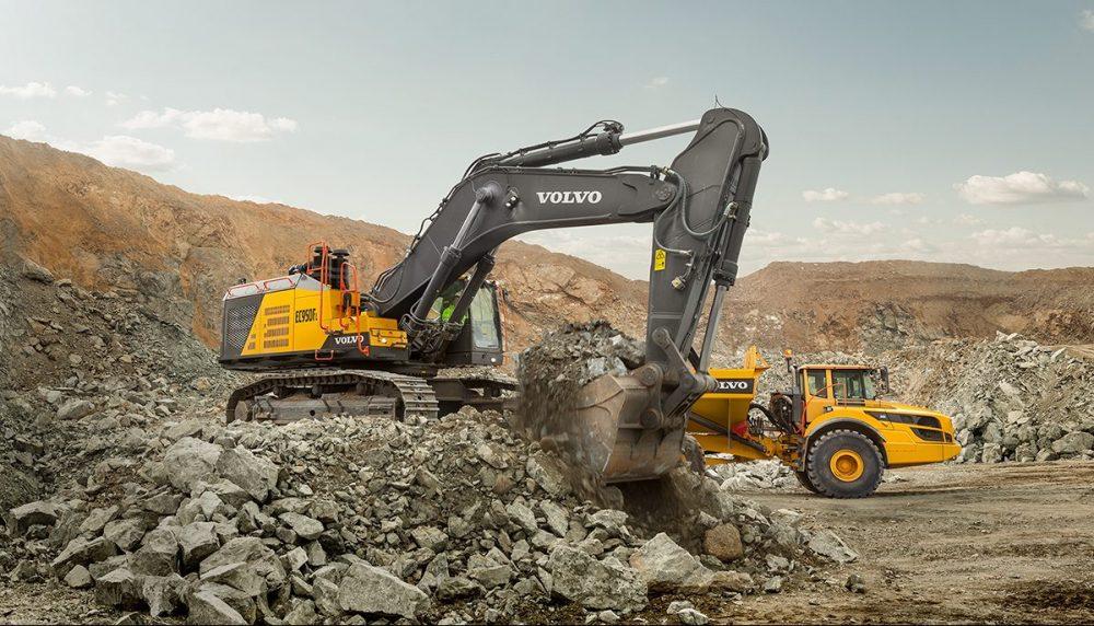 VolvoCE EC950F 90 tonne Crawler Excavator now available worldwide