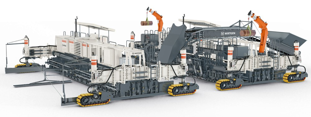 The SP 154i can be used as bottom layer or top layer paver, depending on the machine configuration.