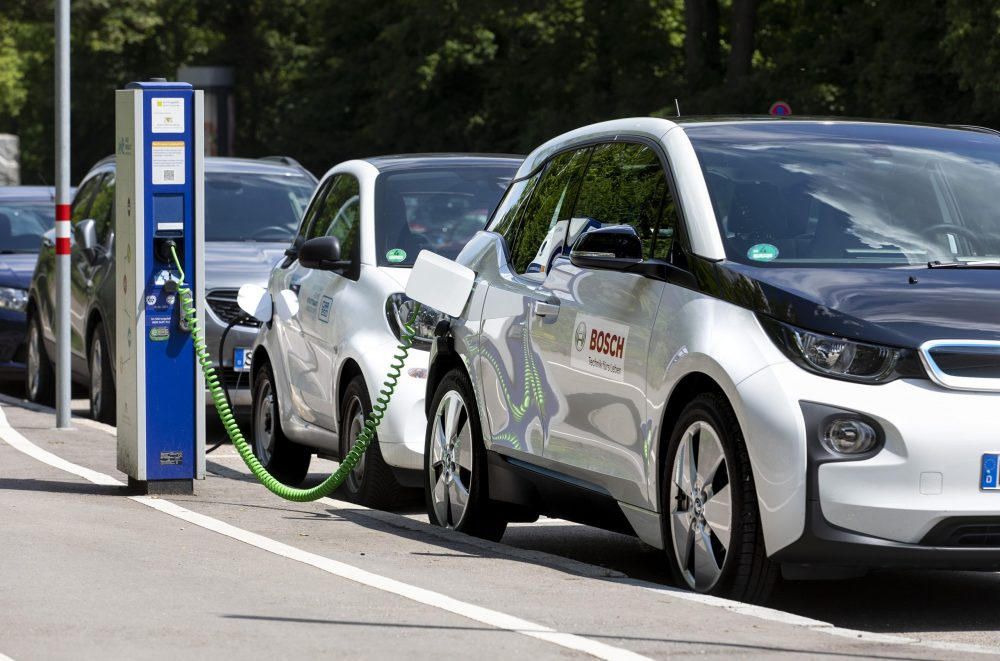 Over 150,000 EV charging spots throughout Europe rely on Bosch