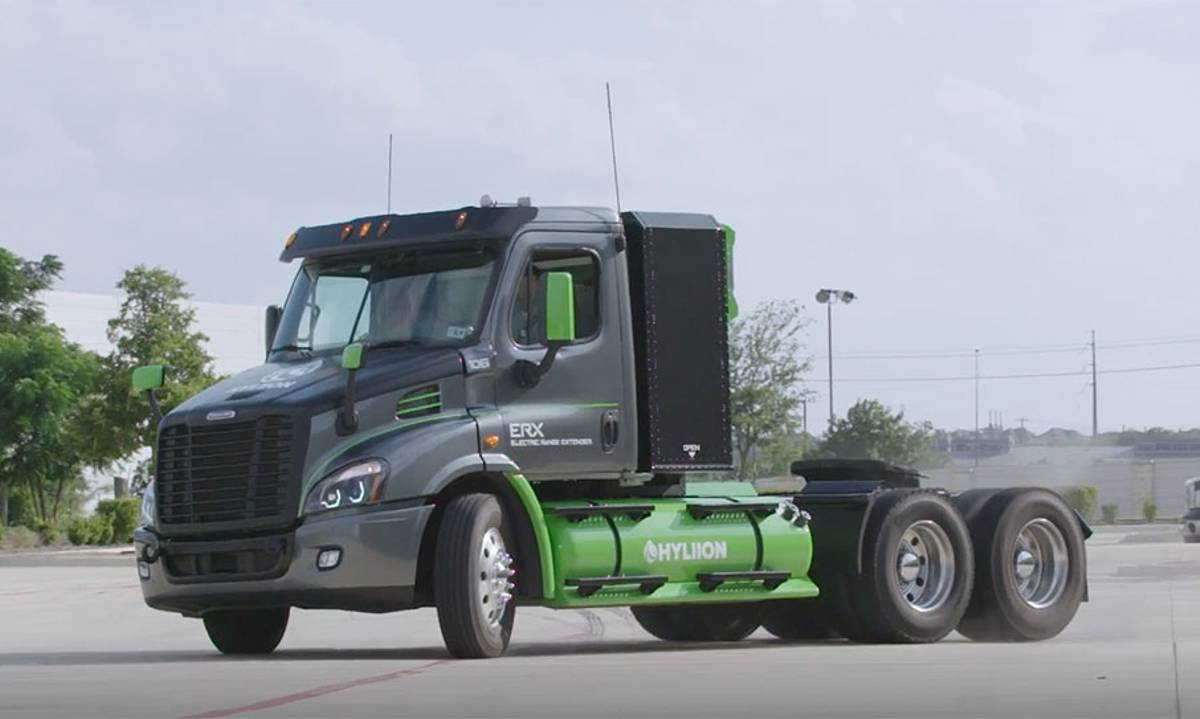 Hyliion announces order for 1000 Electric ERX Truck Powertrains