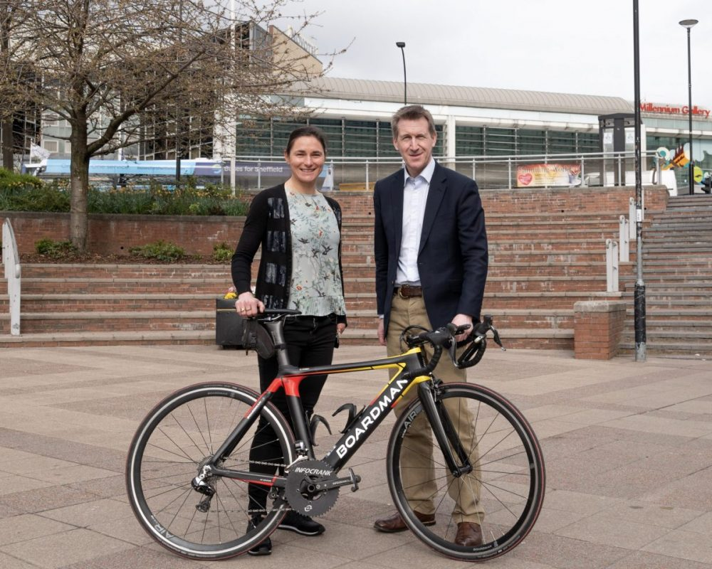 Sheffield announces plans for 1,000 kilometres of walking and cycling routes