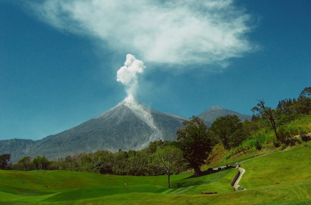 Monitoring active volcanoes in Guatemala with the help of drones