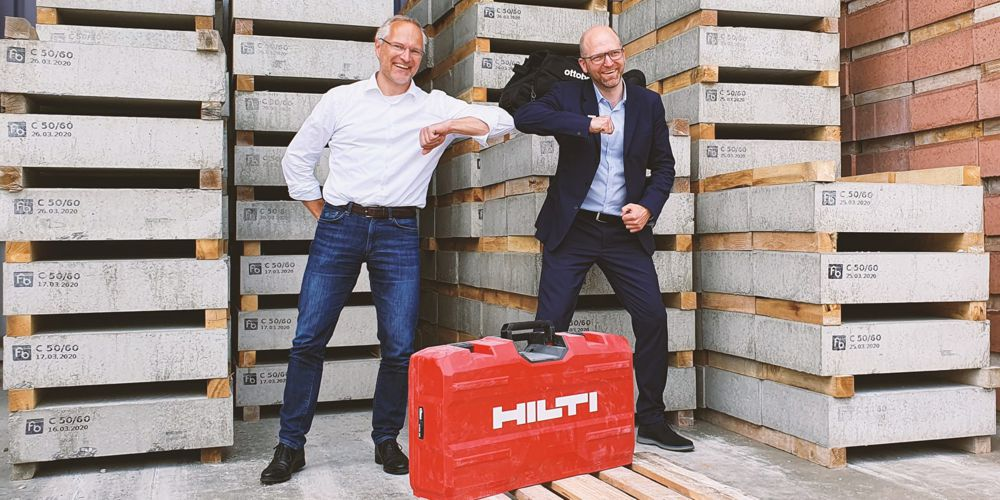 Hilti and Ottobock power up with Exoskeleton solutions for the construction industry