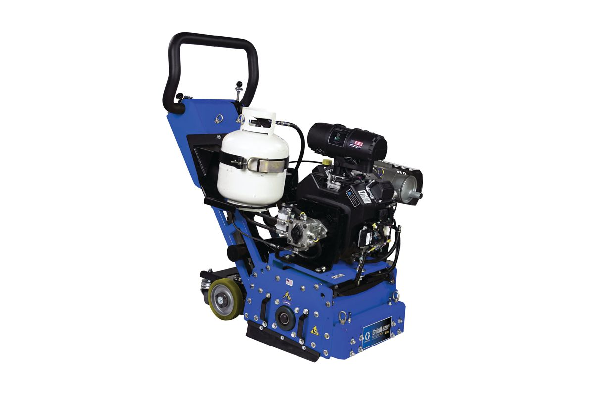 Graco launches GrindLazer DC15 DCS Drum Scarifiers