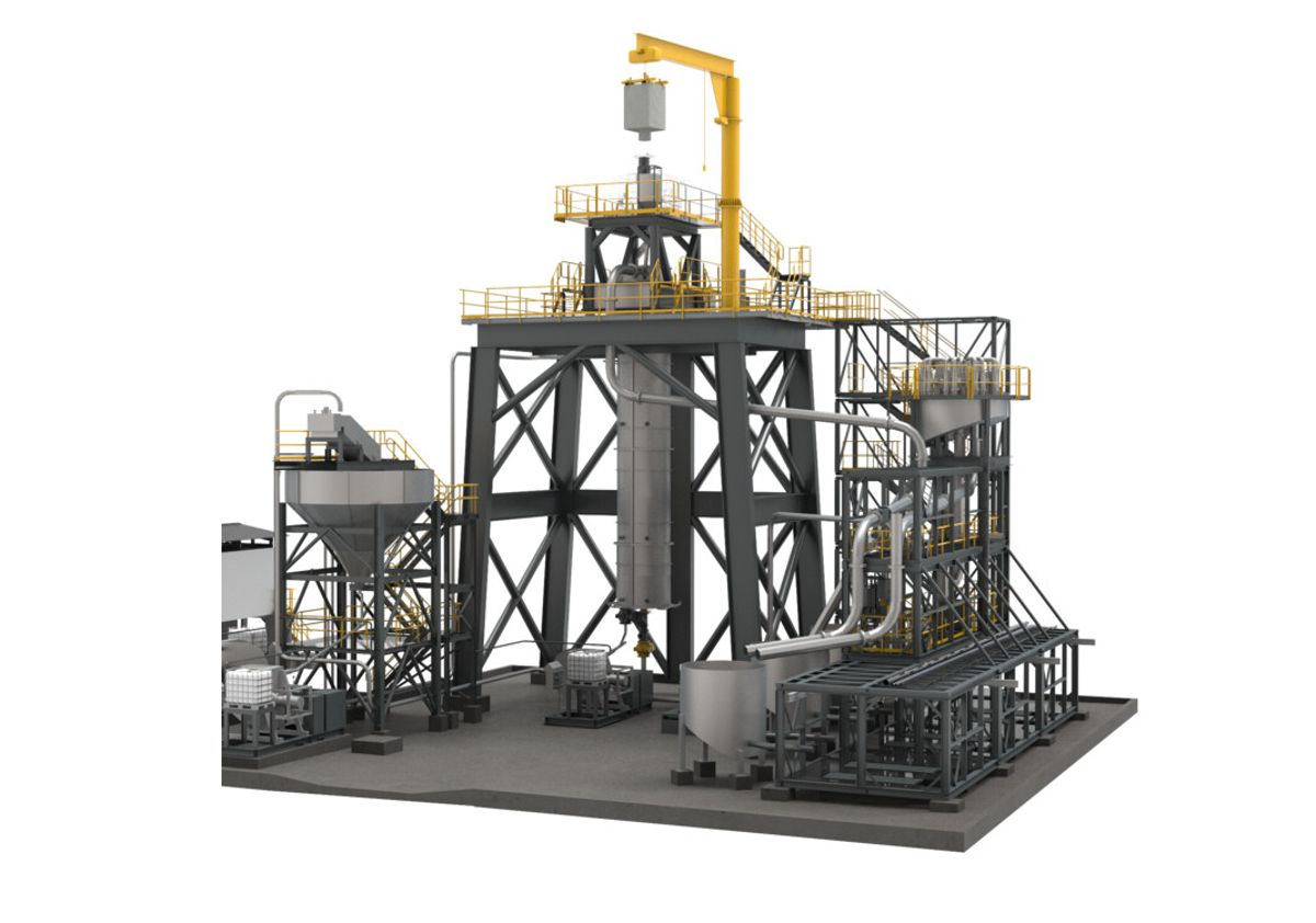 The new Outotec HIGmill plant a cost-effective modular solution for fine grinding