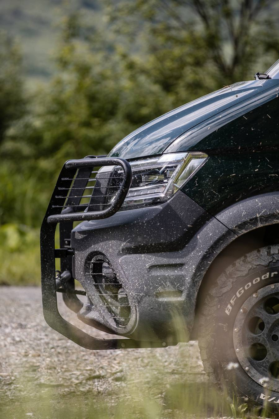 TORSUS TERRASTORM promises to take off-road minibuses to new heights
