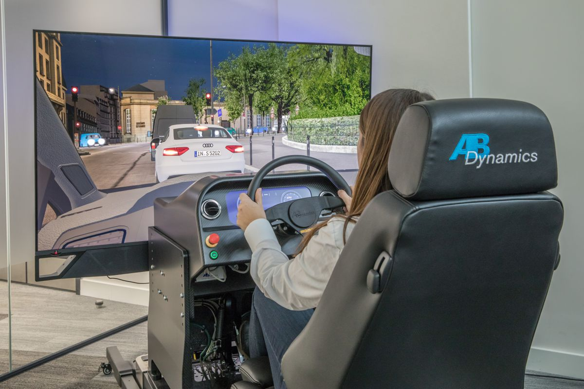 AB Dynamics launches new static driving simulators