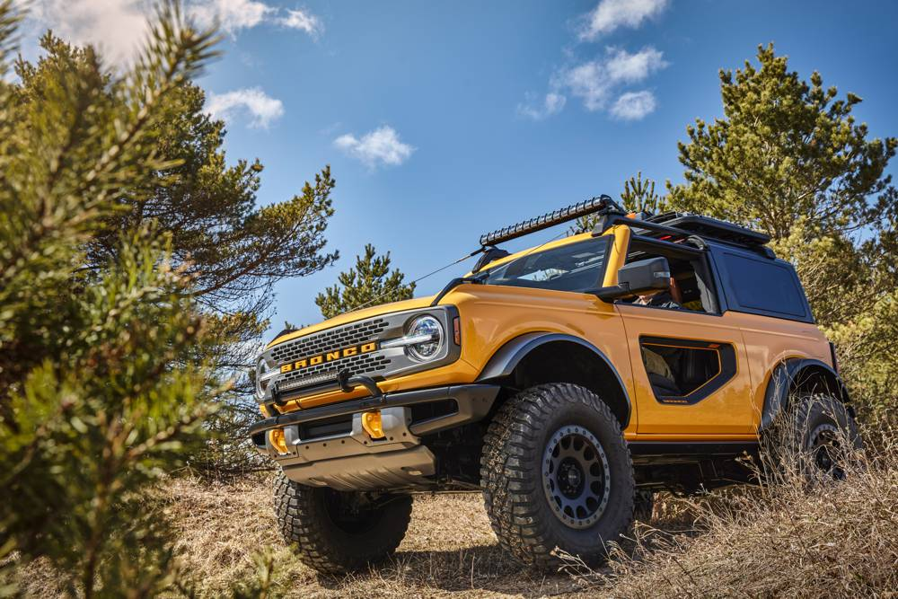 Ford reveals wild 2021 Bronco built for off-road fun