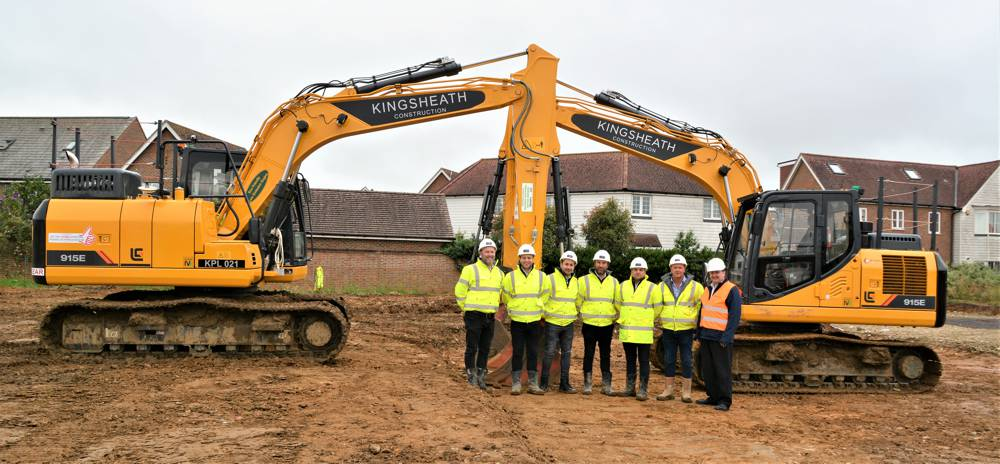Kingsheath Construction invest in a fleet of LiuGong excavators
