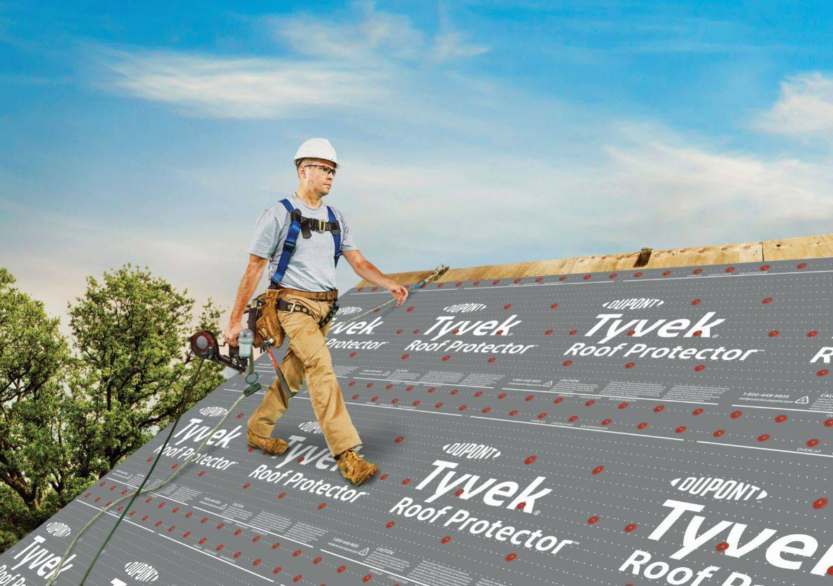DuPont Performance Building Solutions announces DuPont Tyvek Roof Protector