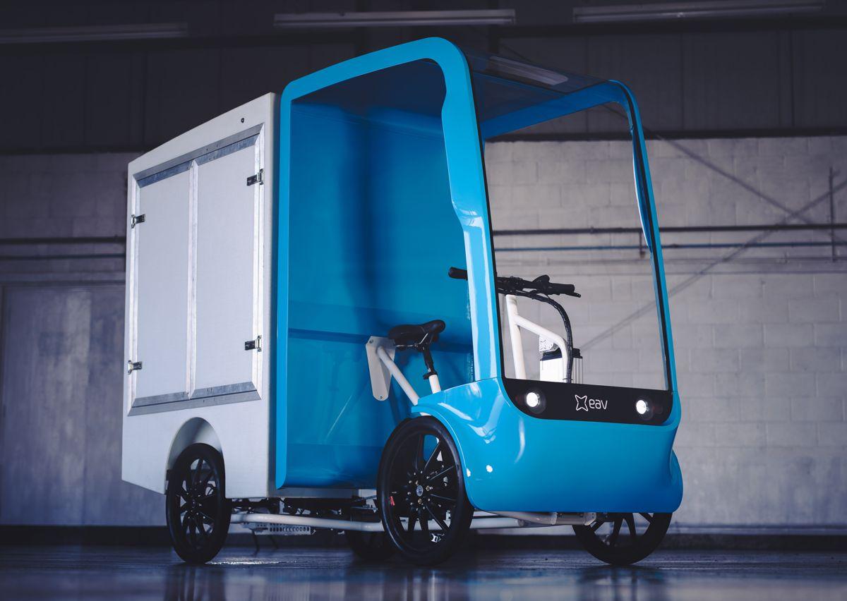 EAV launches revolutionary eCargo Chassis Cab Platform