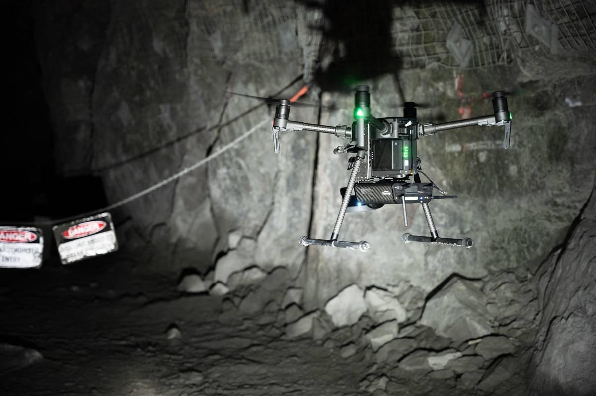 Velodyne Lidar sensors power Emesent autonomous Drone 3d Hovermap