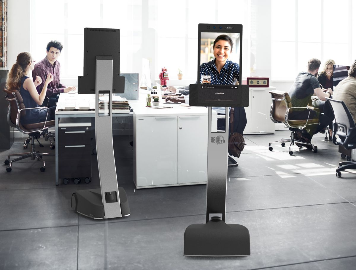 GoBe Robots develops new generation of Telepresence Robots