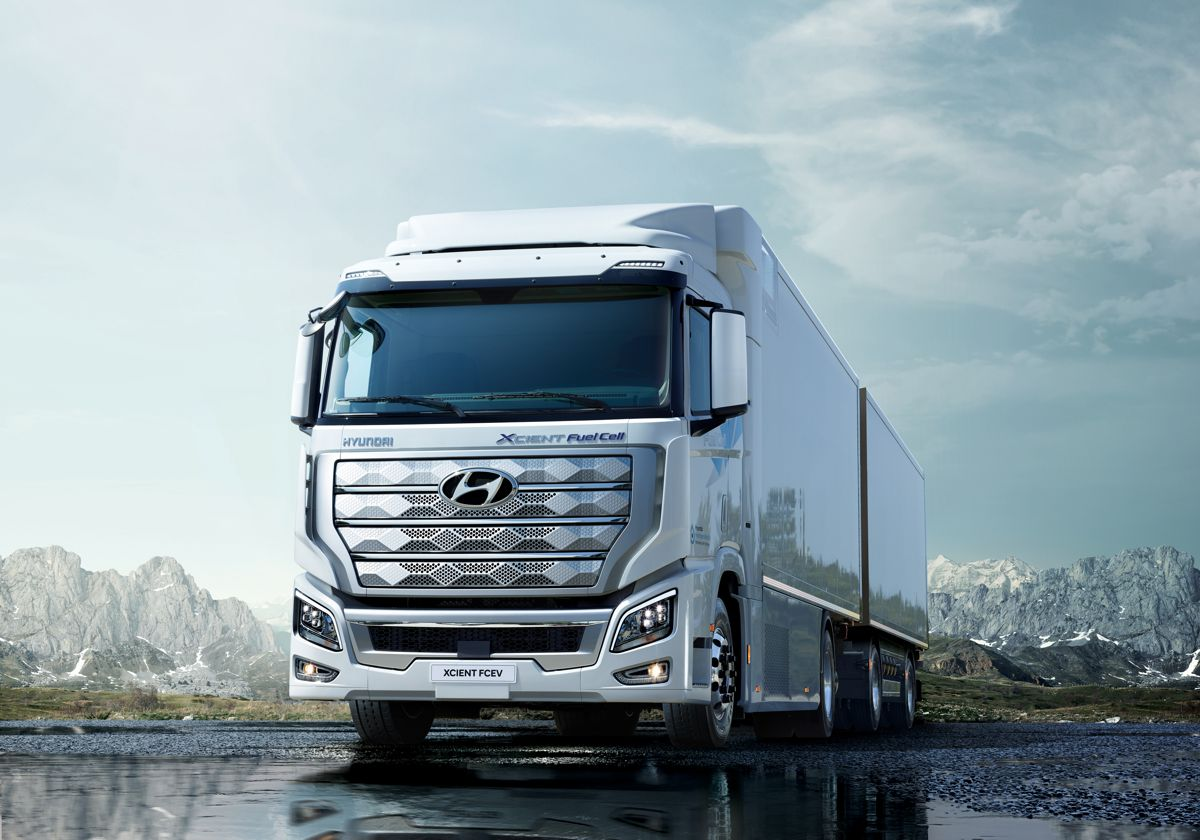 Hyundai Xcient heavy-duty hydrogen fuel cell truck set for Switzerland