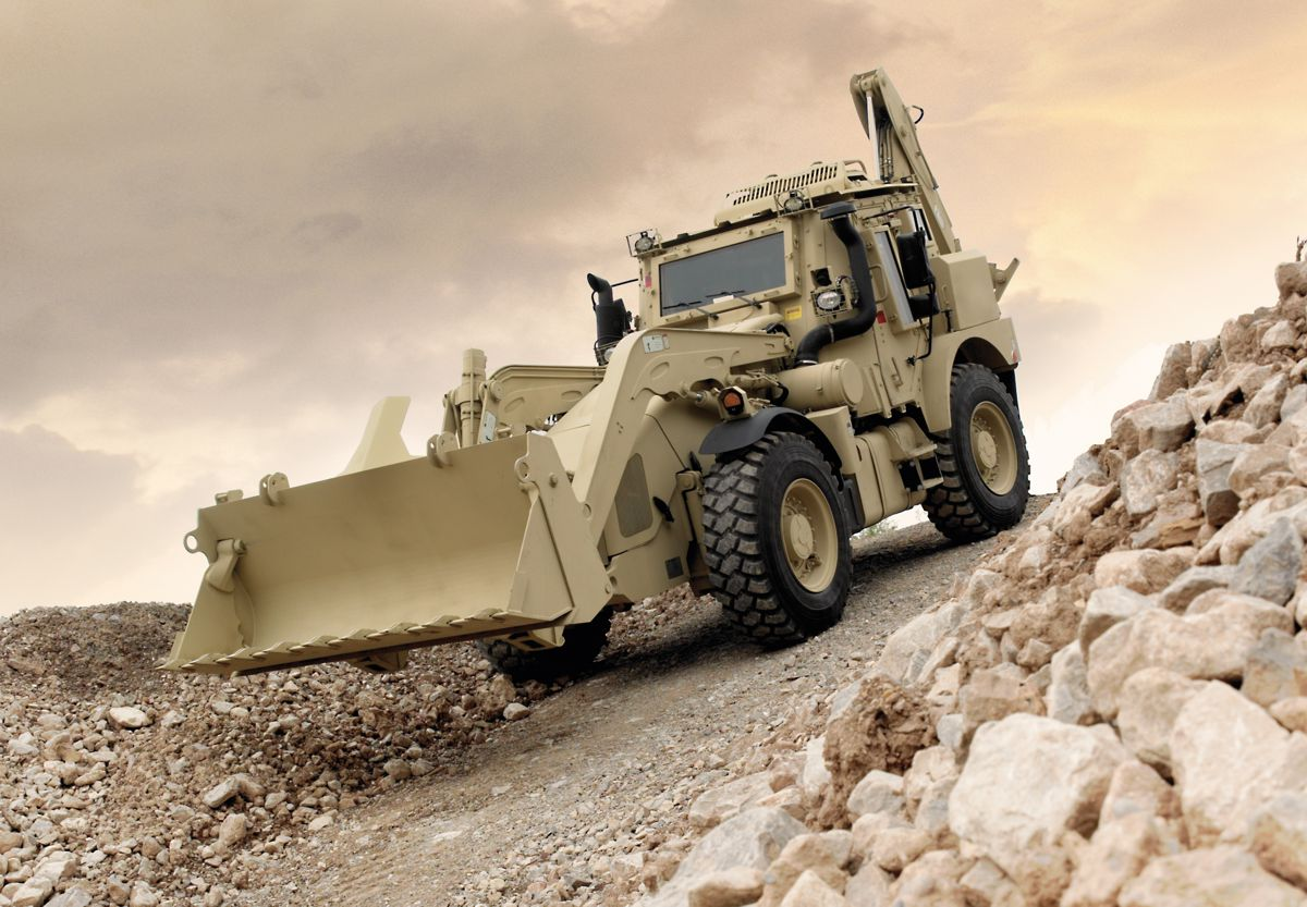 JCB wins £217m contact for US Military High Mobility Engineer Excavators