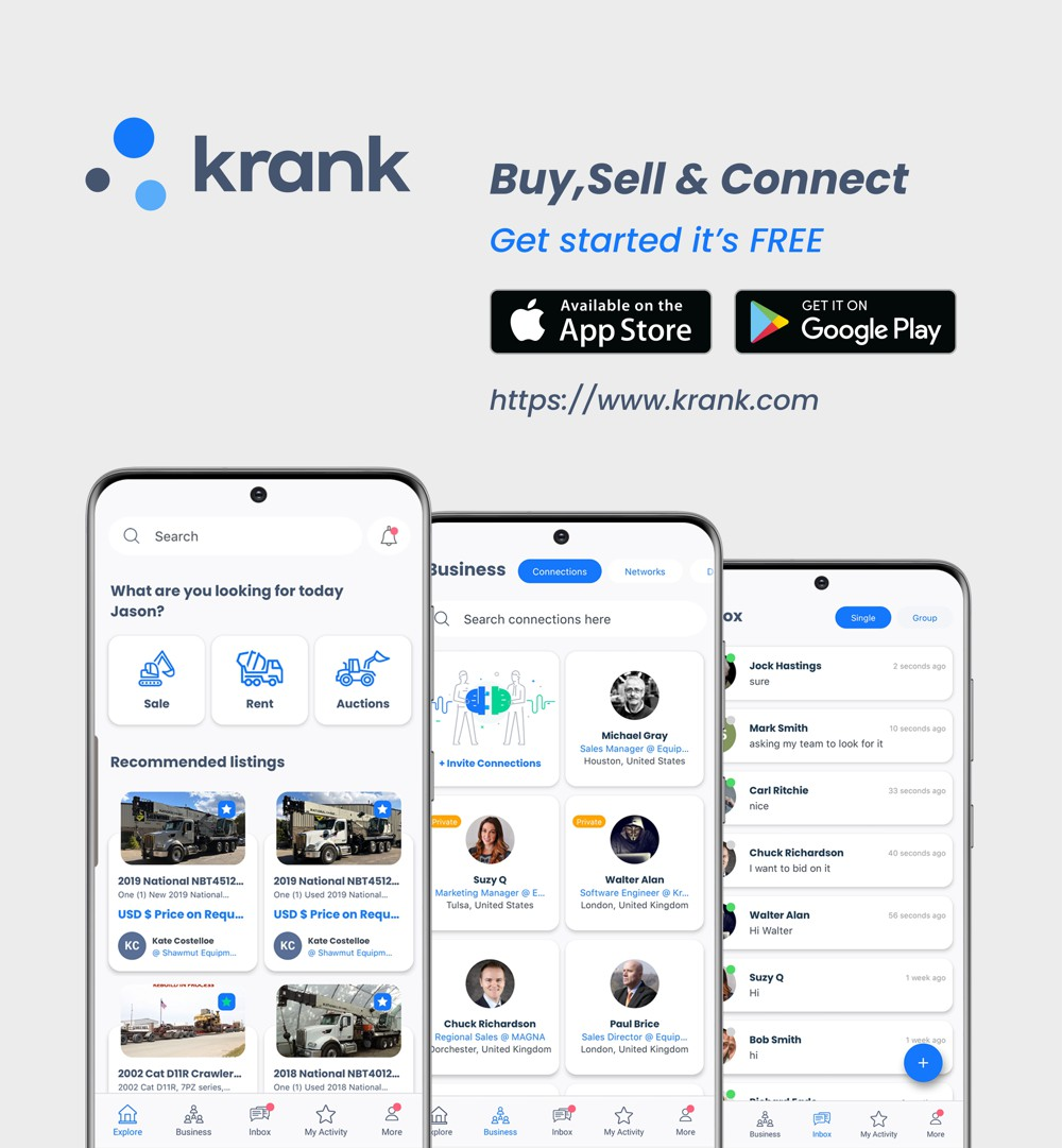 Krank introduces the world's first B2B owner-auction platform